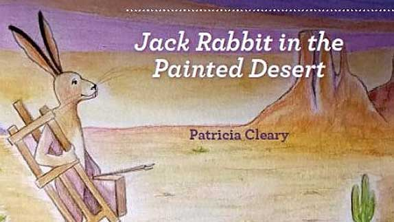 Jack Rabbit in the Painted Desert