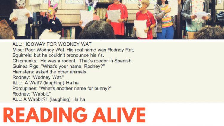 Lecturas dramatizadas en inglés para niños