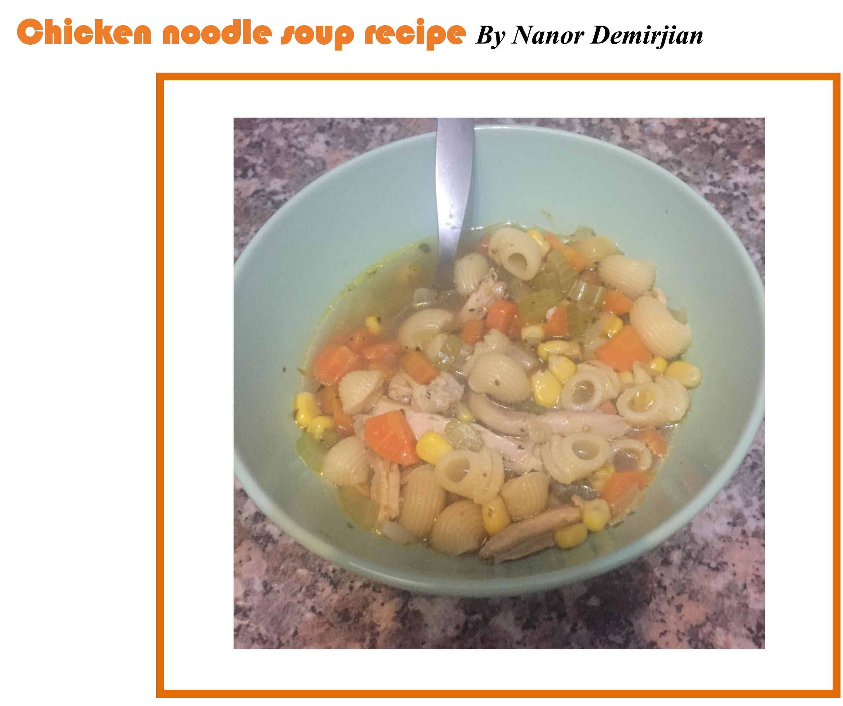 Family book club recipe of the month january chicken noodle you can also download it in pdf format forumfinder Image collections