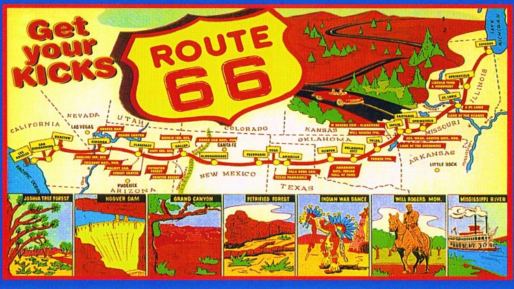 Representing America: Route 66