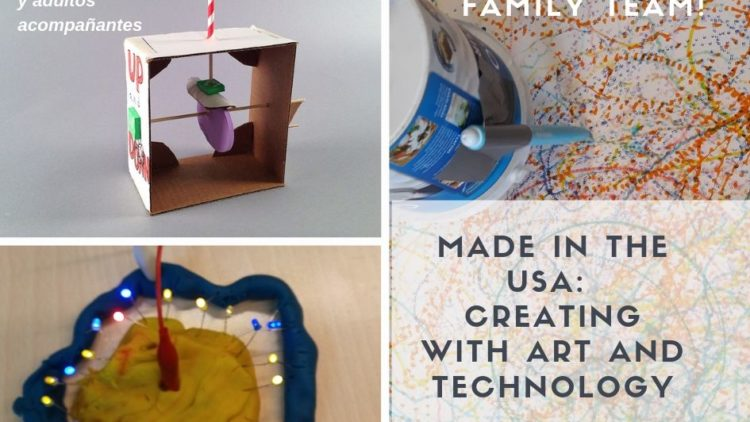 Made in the USA: Family Maker Workshop Creating with Art and Technology