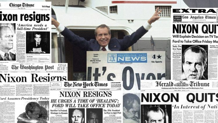 Reacting to the Past Workshop: WATERGATE, 1973-74